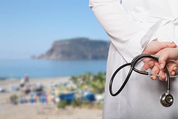 Лекар по време на ваканция